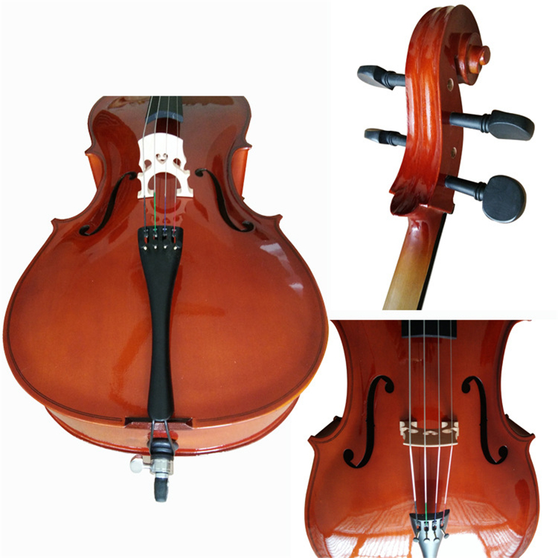 Professional Performance 4 4 3 4 1 2 1 8 Handmade Light matte Basswood Beginners Practice Children Playing Cello in Cello from Sports Entertainment