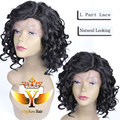 Short Curly Synthetic Lace Front Wigs for Black Women Heat Resistant Lace Front Synthetic Wigs Curly Front Lace Wig Synthetic