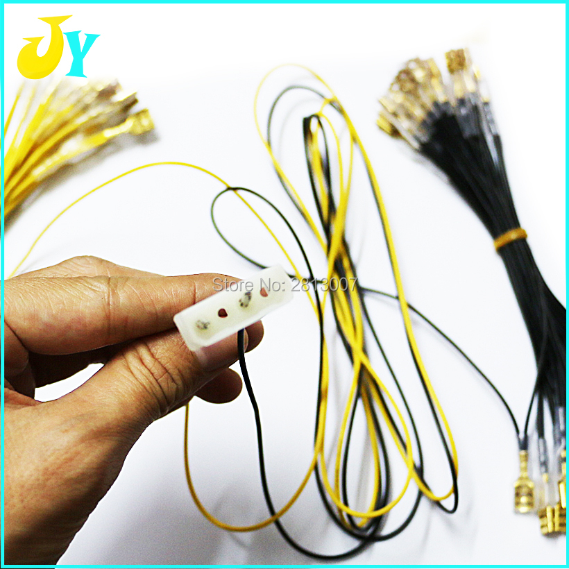 30 Terminal Arcade Push Button Led Light Cable Wire Harness To Pc