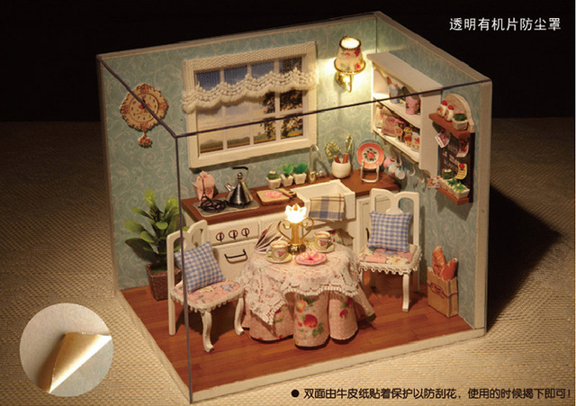 Dollhouses Creative Diy Gift Girlfriend Custom Birthday Girl Friend To Send Her Girlfriends Boyfriend Boy Is