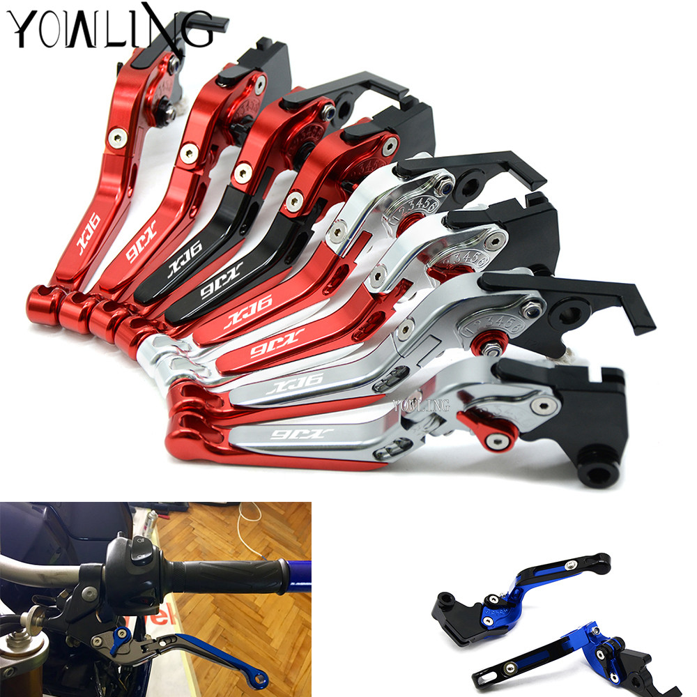 For YAMAHA XJ6 DIVERSION XJ6DIVERSION XJ 2009-2014 2010 2011 2012 2013 Motorcycle CNC Brake Clutch Levers Brake Levers Handle motorcycle adjustable cnc aluminum brakes clutch levers set motorbike brake for yamaha fz1 fazer 2006 2013 xj6 diversion 09 15