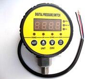 0 до-0.1Mpa 240VAC G1/4 0.5% Воздуха Отрицательный Вакуумный Цифровой Переключатель Давления
