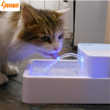 VOVOPET Automatic Pet Cat Water Fountain with LED circulation filtration Feeder Drinking Dispenser