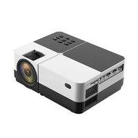 Великобритания светодиодный Портативный дома Театр видеопроектор Поддержка HD1080P для Открытый фильм Jun21