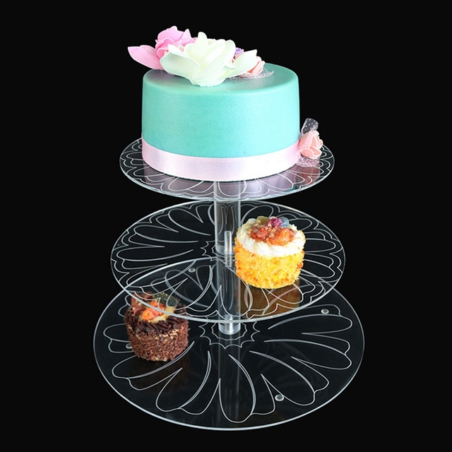 Wholesale Cake Decorating Stand 3 Tiers Cake Stand Birthday Party ...