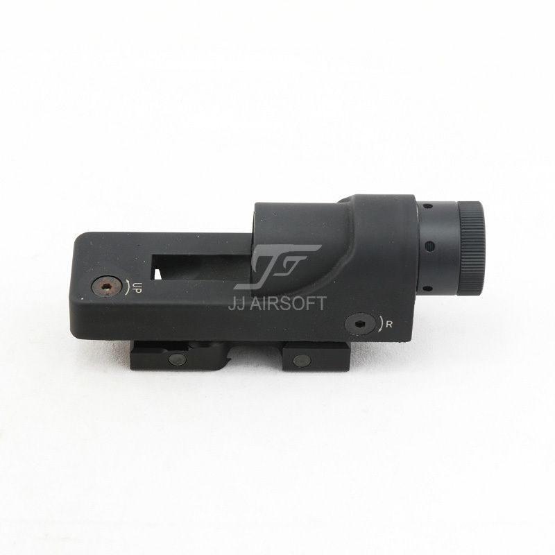 JJ Airsoft 1x24 Reflex Red Dot (Black/Tan) RX06:Reflex Triangle Reticle FREE SHIPPING (ePacket/HongKong Post Air Mail)