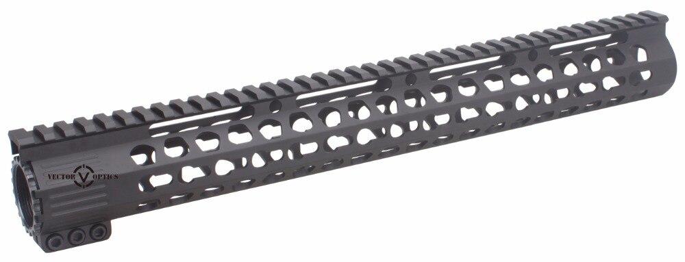 Tactische Ultra Slim KeyMod 7 10 12 15 17 inch Gratis Float Picatinny - Jacht - Foto 4