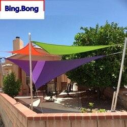 Personalizado sombra de sol vela uv plutônio impermeável pano quadrado triângulos sombreamento ao ar livre pátio varanda toldos carport personalizado qualquer tamanho