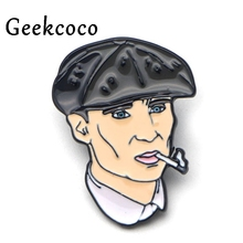 Peaky Blinders characters Enamel Pins for clothes metal Gift para bag shirt hat backpack insignia Brooches Badges for men J0132