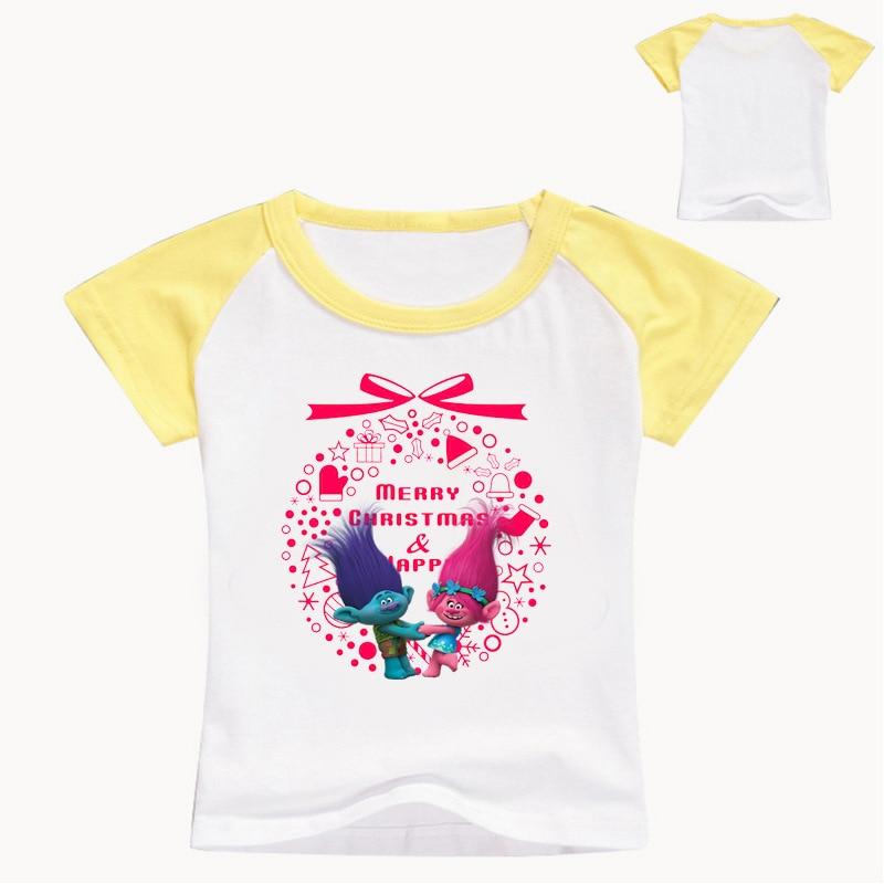 Z&Y 3 16Years Trolls Poppy Costume Baby Christmas Shirt Jersey Kids ...