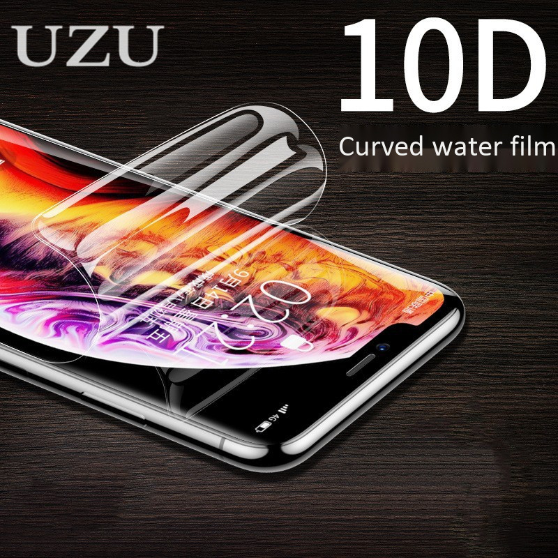 10D Full Cover Hydrogel Protective Film for Samsung S6 S7 edge S8 S9 Plus S10 lite Screen Protector Film for Samsung Note 5 8 9
