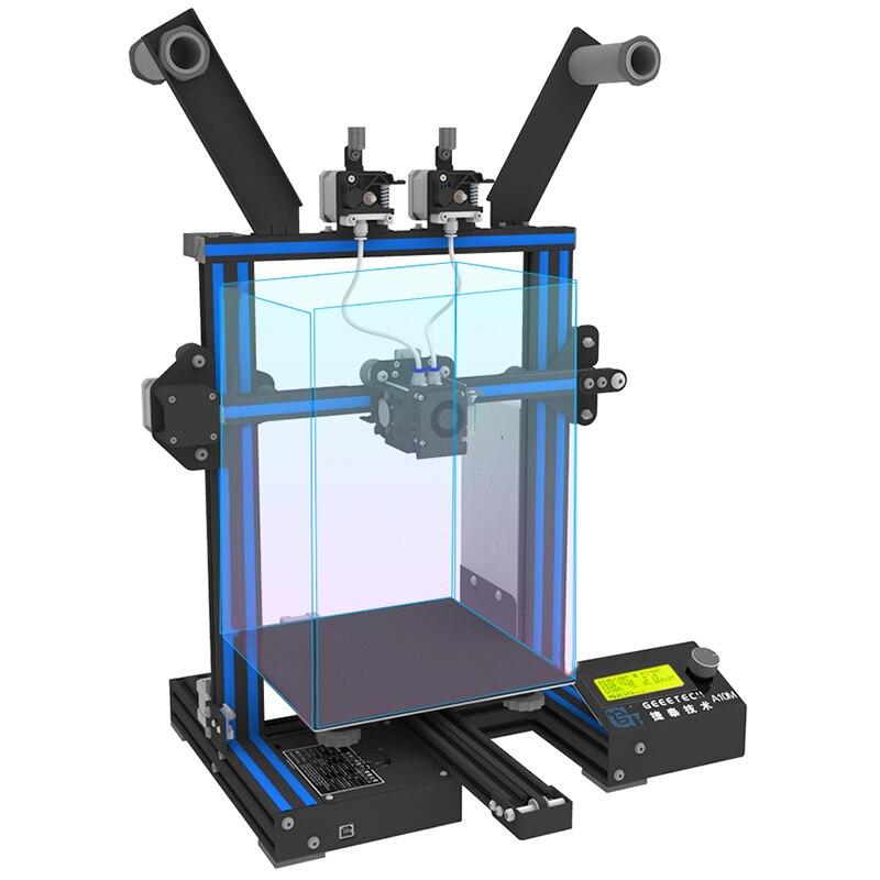 D'origine Geeetech A10M Mélanger-couleur 3D Imprimante 220x220x260mm avec une option 3D wifi module facile Et Opération Commode - 3