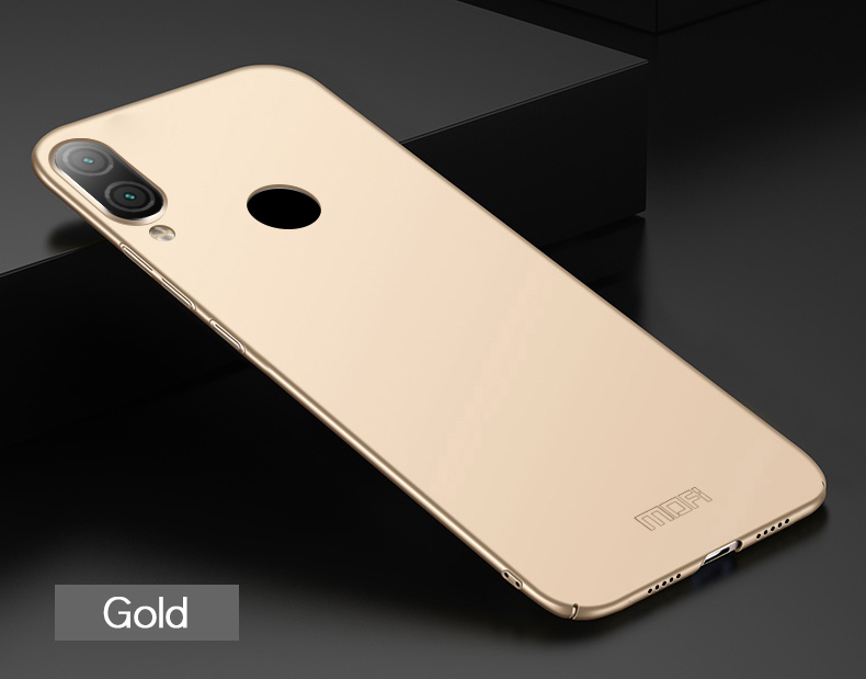 For Xiaomi Redmi Note 7 Cover Case MOFI PC Hard Cases For Xiaomi Redmi Note 7 Phone Shell in Half wrapped Cases from Cellphones Telecommunications