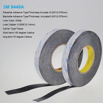 2 Metro 25mm Anchura 3m9448a doble tejido recubierto Cintas adhesivo conductor térmico almohadilla térmica para disipador de calor del radiador