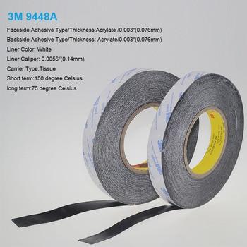 2 Metro 25mm ancho 3M9448A doble cinta de tejido recubierto térmico conductivo térmico almohadilla térmica para disipador de calor radiador disipador de calor