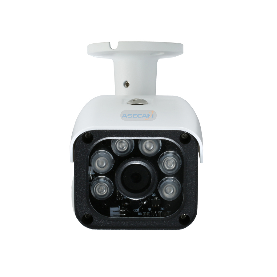 Super HD 4MP H.265 IP Camera 25fps Onvif Bullet Waterproof CCTV Outdoor 48V PoE Network Array 6* LED IR Security Surveillance