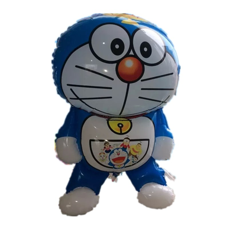 Large Doraemon foil Balloons Birthday party decoration kids Inflatable toys Cartoon Balls Childrens classic toys Party Supplies