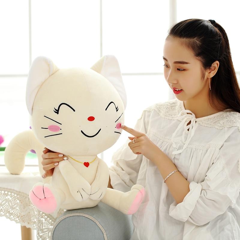 Emoji Pillow, Expression Cat, Plush - პლუშები სათამაშოები - ფოტო 4