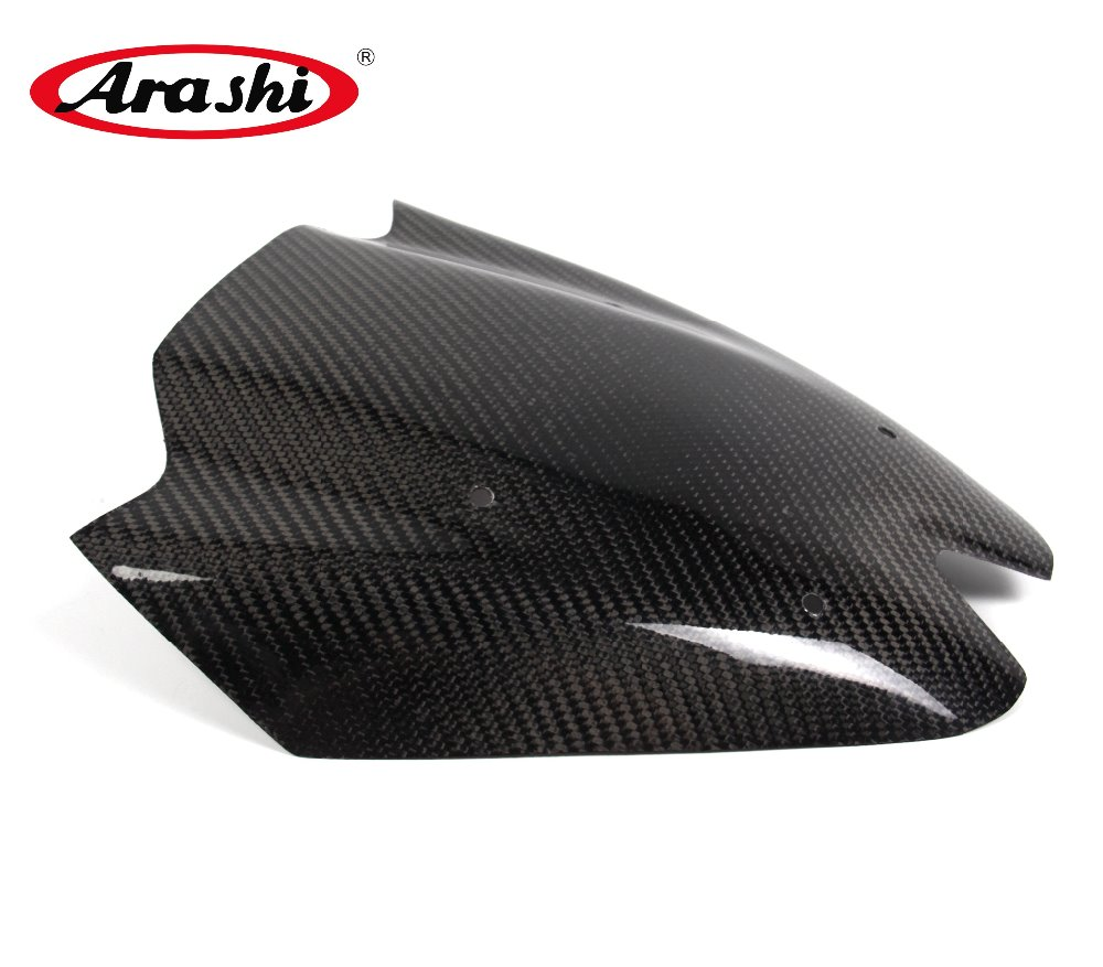 Arashi Z1000 Parts Carbon Fiber Gas Tank Cover Fuel Oil Protector For KAWASAKI Z1000 2011 2012 2013 2014 Protective Shield Case arashi z1000 2010 2011 motorcycle carbon fiber tank cover fuel oil protector for kawasaki z1000 gas protective shield case