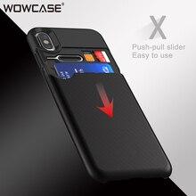 на айфон X чехол,WOWCASE Слот для кредитной карты Бизнес 360 Защитная крышка на айфон XS Max XR X S чехол для аксессуаров на айфон Xs Max чехол на айфон Xr на чехле айфон Xs max