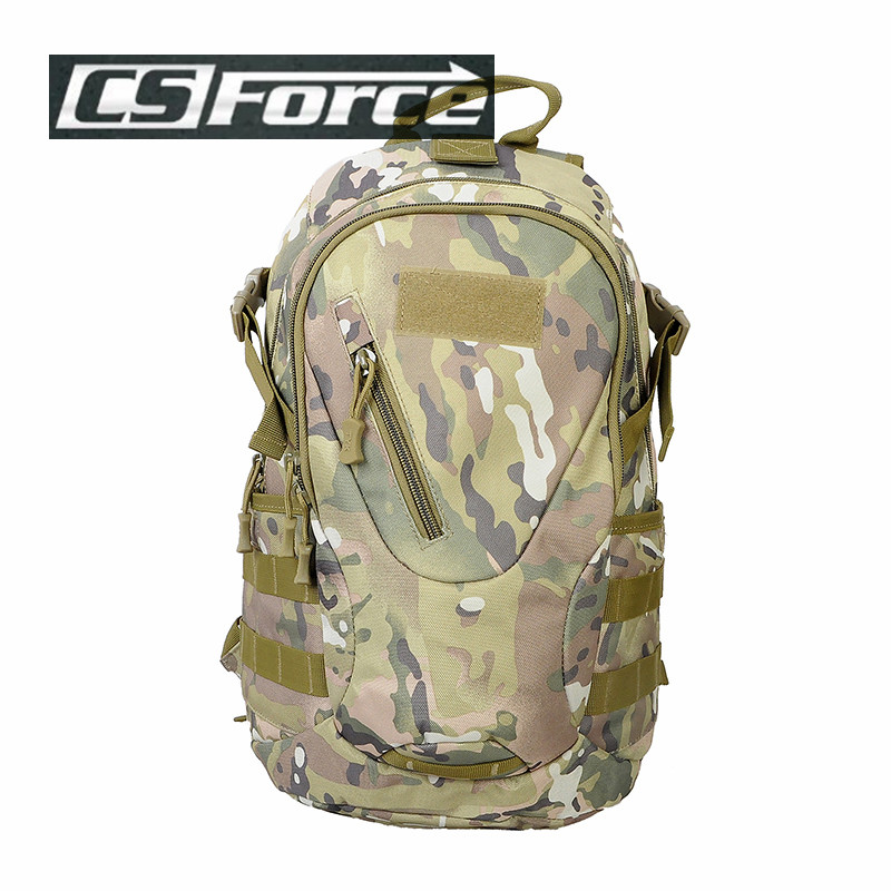 Outdoor Military Army Tactical Backpack Camping Hiking Trekking Sport Camouflage Backpacks 20L 600D Molle Bag Hunting Bags qg0784 men women outdoor military army tactical canvas backpack camping hiking trekking sport bag large capacity backpack