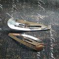 Aa + ( 80 MM / 60 MM 50 unids/pack ) níquel Color grueso Metal Bobby Pin Clips horquillas del pelo accesorios de joyería y apreciacion