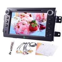 Android4 4 Car CD Dvd Player Radio Car GPS Navigation Head Unit Vehicle Stereo Video Audio