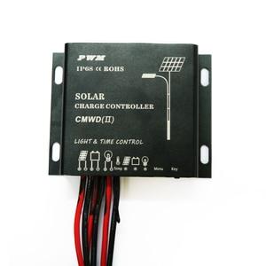 Image 2 - PowMr Waterproof Solar Charge Controller 10A 20A IP68 LED Digital Solar Regulator 12V 24V Auto for DC Solar Street Light System
