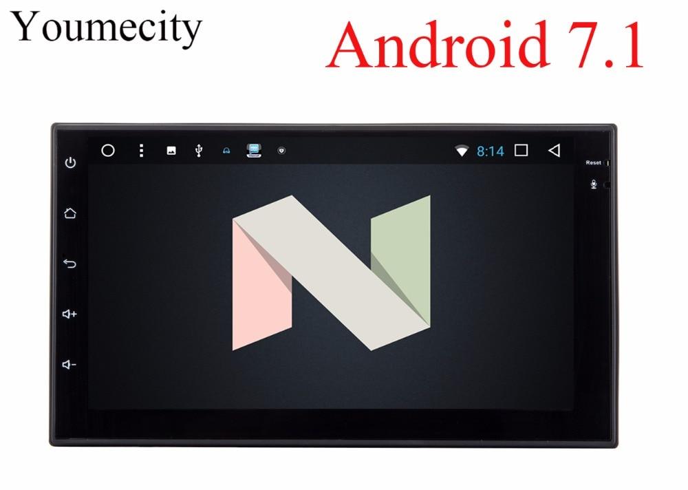Youmecity 2G RAM Octa core 2 din android 7 1 New universal font b Radio b