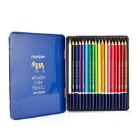 Студент Милые 12/18/24/36 деревянный Цвет карандаш DIY Профессиональный карандаши для детей школьные принадлежности 951