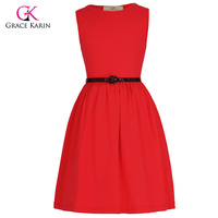 สีดำสีแดงดอกไม้ชุดสาวด้วยเข็มขัดแรกร่วมประกวดแต่งกายสำหรับงานแต่งงานพรรค