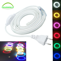 220 V 2835 Neon led strip licht flexibele string 120led/M Fairy verlichting IP68 Waterdicht met EU plug, Outdoor decoratie