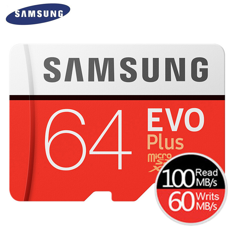 SAMSUNG Memory Card EVO Plus Micro SD 32GB Class 10 U1 MicroSD Card C10 UHS-I Trans Flash MicroSDHC/SDXC 64GB 128GB U3 4K
