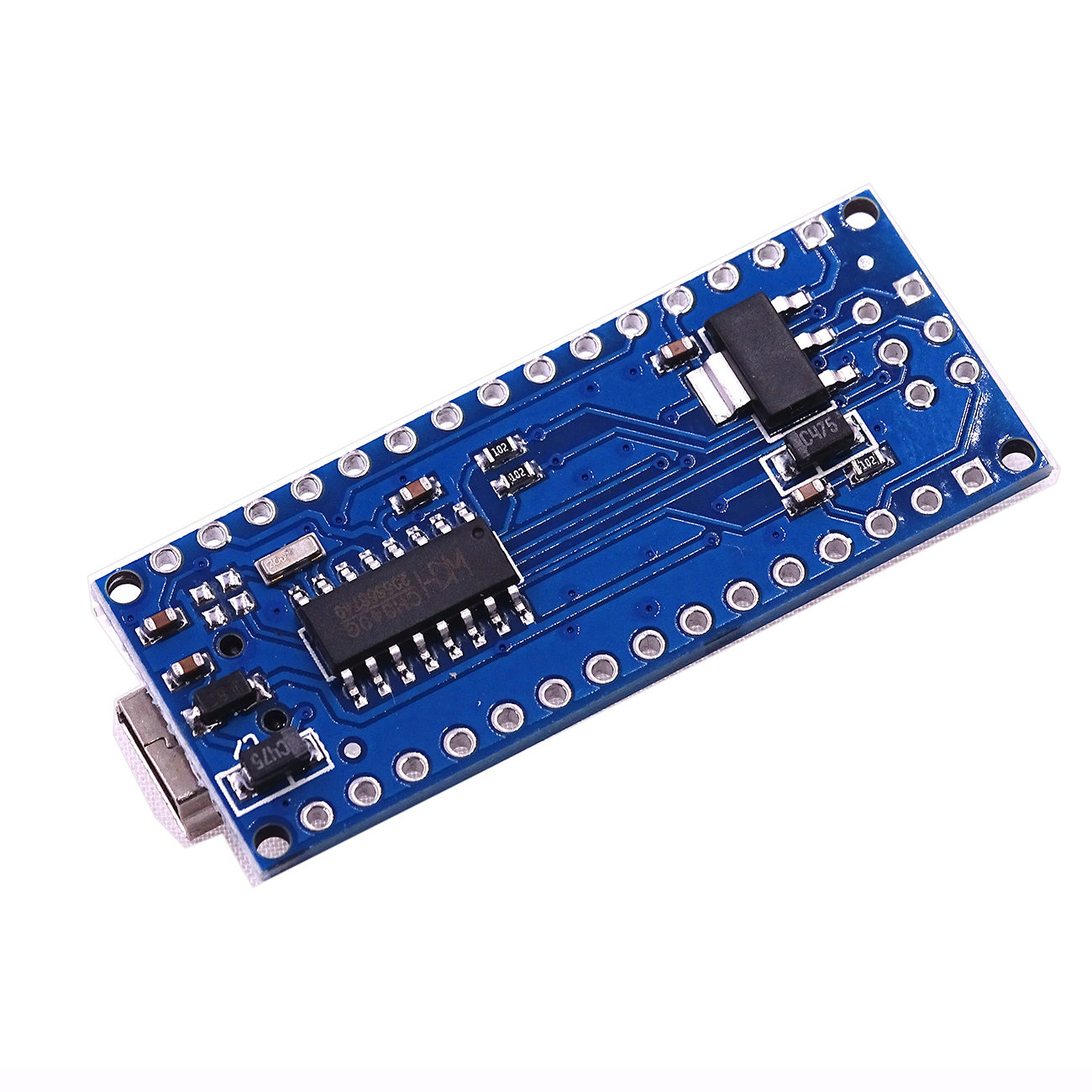 Image 4 - 100PCS Nano 3.0 Atmega328P Controller Compatible With For Nano CH340 USB Driver 16MHz No Cable For Arduino-in Integrated Circuits from Electronic Components & Supplies