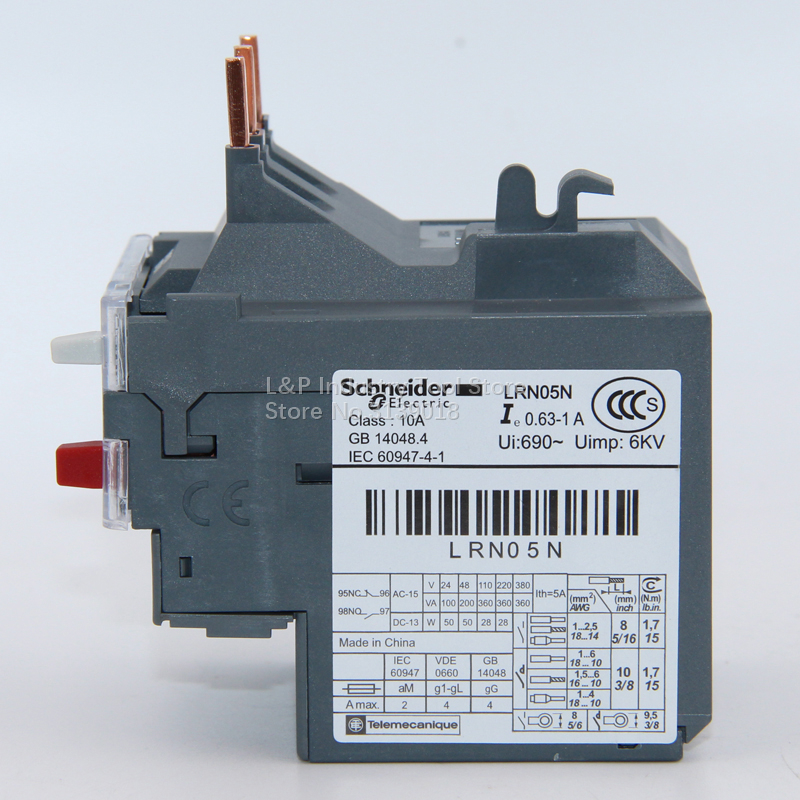 New Original Schneider Electric China LRE05N Stopped Production