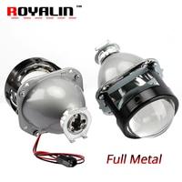 ROYALIN WM2 Styling 2 5 H1 Projector Headlights Lens LHD RHD High And Low Beam Hi