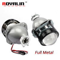 ROYALIN WM2 Styling 2 5 H1 Projector Headlights Lens LHD RHD High And Low Beam Hi