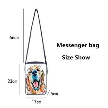 Skull Messenger Crossbody Bag 3