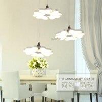 SOLFART Lighting MD3240 Snowflake Type Design Modern Long Life LED Dining Pendant Lights