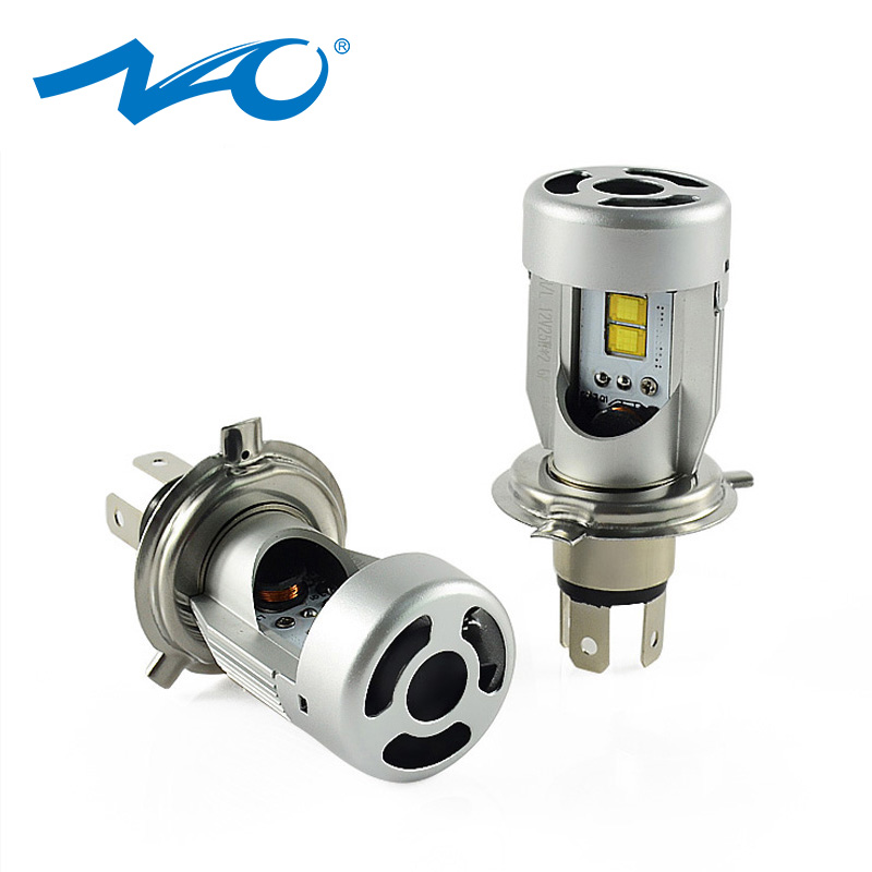 NAO H4 led Car Headlights LED Light Bulb H4 High Low Beam 12V 24V Flip Chip