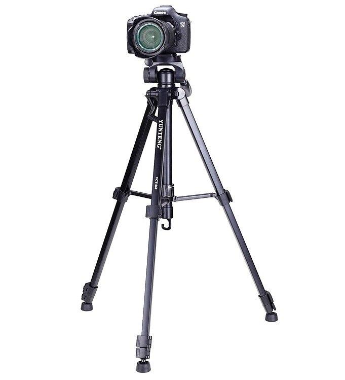 YUNTENG VCT 668 tripod for camera DV Professional Photographic equipment Gimbal Head new