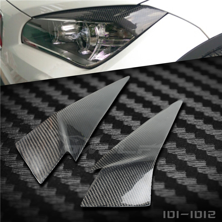 Fit for BMW X1 E84 carbon fiber lamp eyebrow|Racing Grills| |  - title=