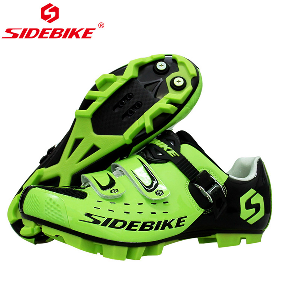 SIDEBIKE Professional Athletic Bicycle Shoes MTB Cycling Shoes Men Self-Locking Bike Shoes sapatilha ciclismo MTB Shoe н д андреева н ф бодрова биология 10 класс рабочая тетрадь