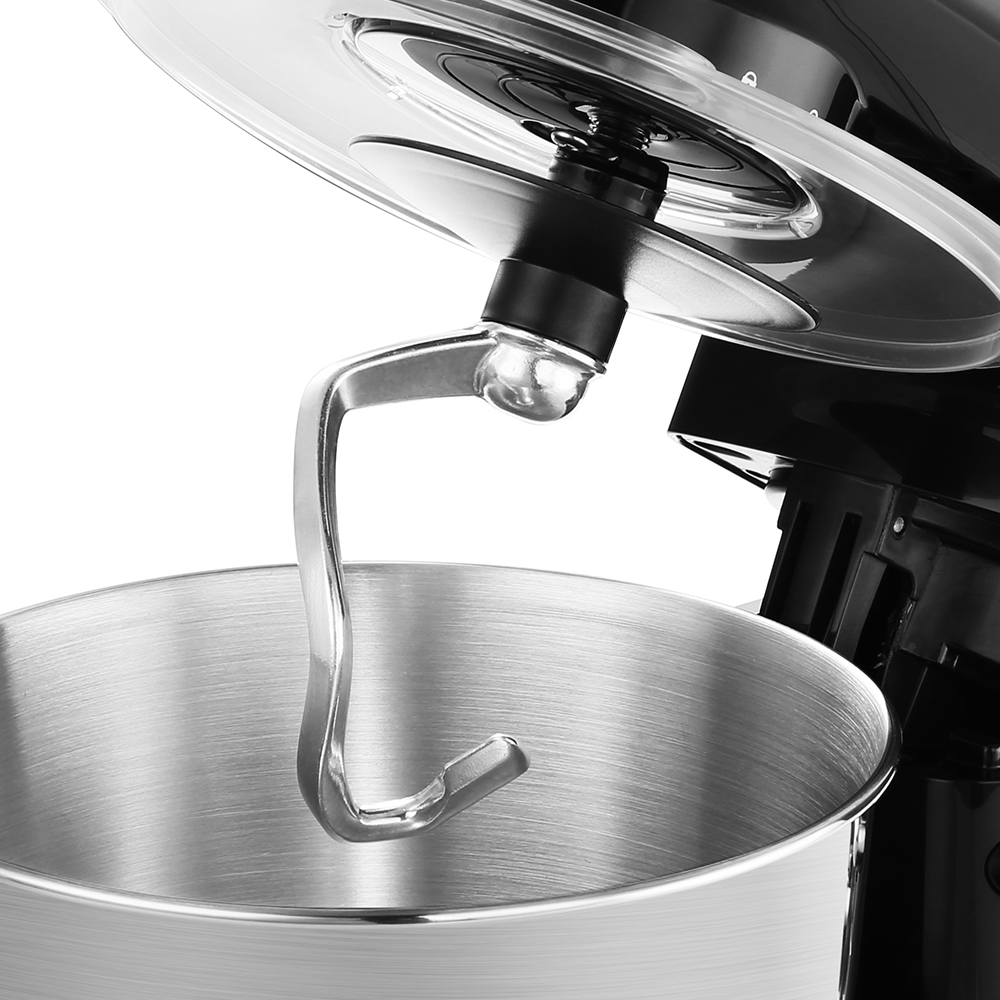 Image 5 - ALBOHES SM 1301Z Pro 5.5L 600W Bowl Lift Stand Mixer Portable Blenders Food Processor 6 Speed Settings Kitchen Appliances-in Blenders from Home Appliances