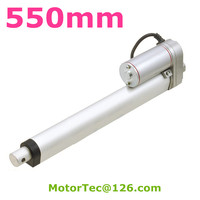 New electric Linear Actuator 12V 24V DC Motor controller 550mm Stroke max 100mm/s speed Linear motor