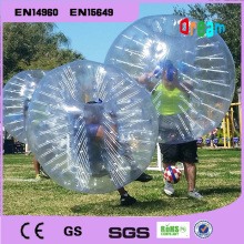 Inflatable human soccer bubble ball /bumper ball/inflatable zorb ball/bubble ball