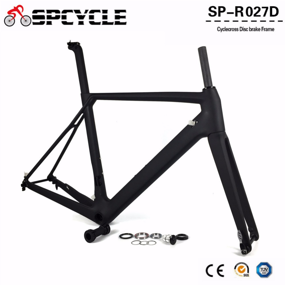 2019 Road Disc Brake Carbon Fiber Bike Frames,Disc Road Carbon Bicycle Framesets,Thru Axle Disc Frames 100*12mm&142*12mm