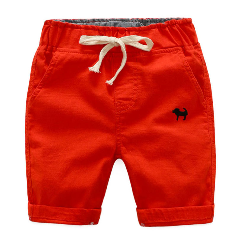 Summer Beach Baby Infant Boy Shorts Hot-sale Casual Embroidery Children Pants Trousers Clothing Elastic Waist Thin Kids Shorts bear embroidery pocket shorts denim pants trousers mori girl summer