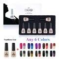 Elite99 Temperature Color Change Nail Gel Manicure Top Base Coat Gel UV Amazing Color Changing UV Color Gel Pack in Gift Box