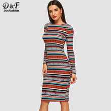 6d148a9671 Buy tribal bodycon dress and get free shipping on AliExpress.com